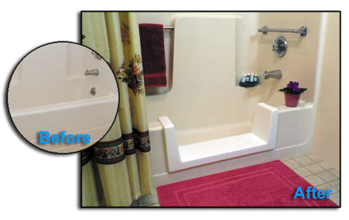 Tag: Bathtub Conversion. Couple Helps Seniors With Tub Conversions